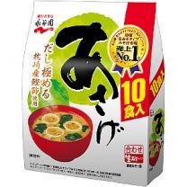 Nagatanien Miso Soup10P 4902388029962image