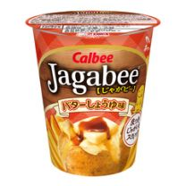Calbee Jagabee Butter and Soy Sauce 4901330640484image