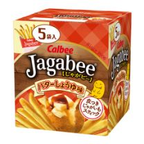 Calbee Jagabee Butter and Soy Sauce 4901330643683image