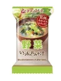 Amano Foods Itsumo no Miso soup Vegetable 4971334204531image