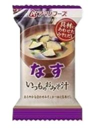 Amano Foods Itsumo no Miso soup Eggplant 5 meals pack 4971334208737image