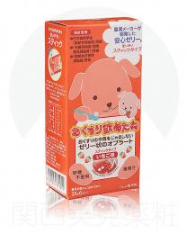 龍角散 餵藥 果凍條 草莓口味 25g×6 4987240601951image