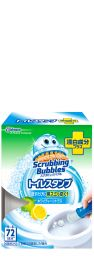 Scrubbing Bubbles Toilet Stamp Bleach Whity Citrus 38g 4901609006300image
