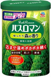 Bath Roman scent of Relaxing forest 600g 4901080579317image