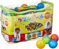 Colorful balls (6 cm x 100 balls, 4 color balls) 4560111494120image