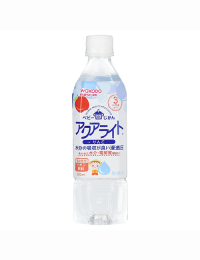 和光堂 Aqualyte 嬰幼兒電解水 蘋果口味 500ml 4987244171917image