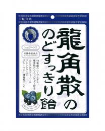 龍角散 潤喉糖 黑加侖藍莓味 75g 4987240631422image