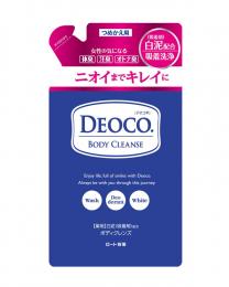 樂敦製藥 DEOCO淨透除味沐浴乳補充包 250ml 4987241157686image