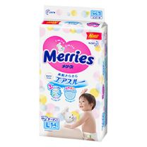 Merries Super Premium Tape L 54pcs 4901301230881image
