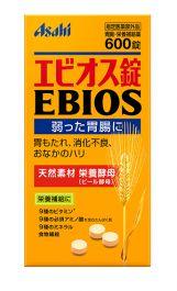 Asahi EBIOS Tablets 600 Tablets