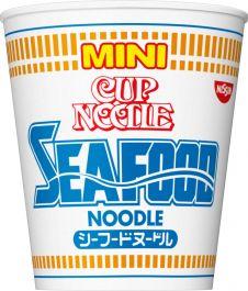 Nissin CUP NOODLE SEAFOOD NOODLE MINI