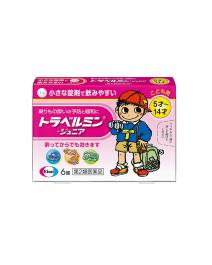 Eisai 衛采製藥 Travelmin Junior 暈車藥(5~14歲) 6錠