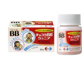 Eisai Chocola BB Junior 80 tablets