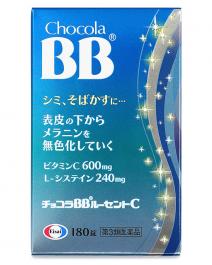 Eisai 衛采製藥 俏正美Chocola BB Lucent C 美白錠 180錠