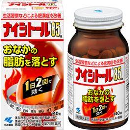 Kobayashi Naishitol 85 140 tablets