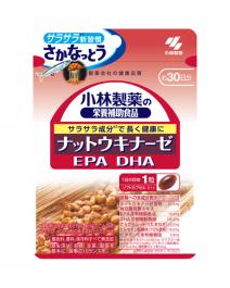 小林製藥 納豆激酶DHA EPA 30粒