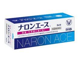 Taisho Pharmaceutical NARON ACE T 84 tablets Antipyretic Tablet Ibuprofen Box 84 pc(s)