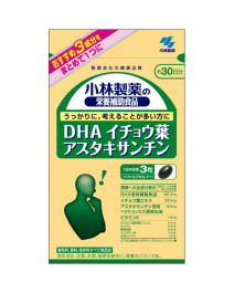 小林製藥 DHA銀杏葉蝦青素軟膠囊