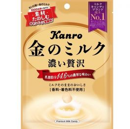Kanro Gold milk candy 80g
