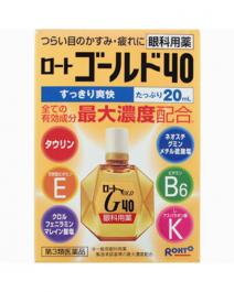 樂敦 Gold40清涼 眼藥水 20ml