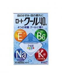 樂敦製藥 Cool 40α 眼藥水 12ml