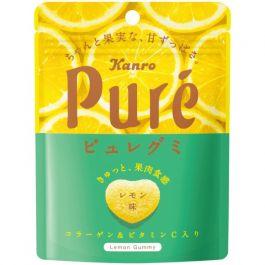 Kanro pure gummy lemon 56g