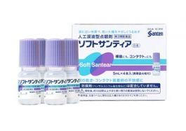 Santen Pharmaceutical Soft Santia 5ml x 4