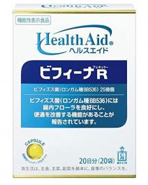 森下仁丹 Health Aid Bifina R 晶球長益菌 20日分