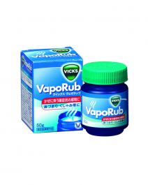 大正製藥 Vicks VapoRub 止咳通鼻舒緩薄荷膏 50g