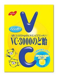 NOBEL Confectionery Nobel VC3000 Throat lozenge 90g