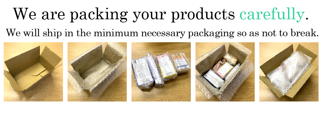 We are packing your products carefully